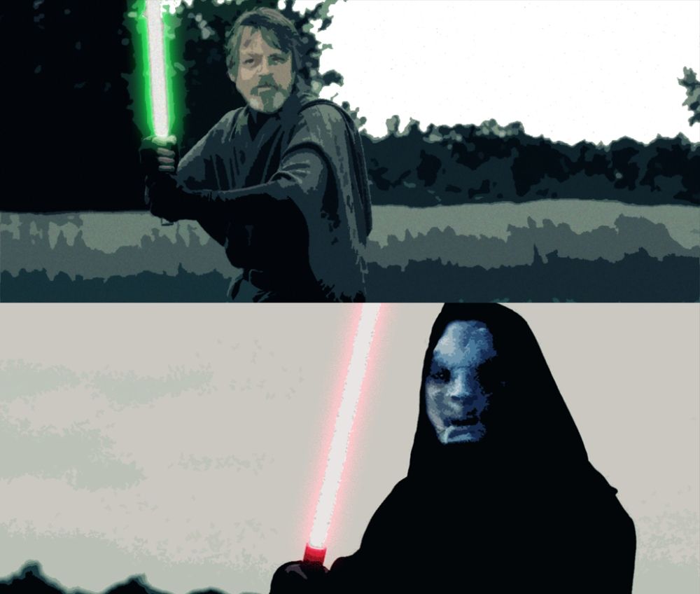 luke vs snoke