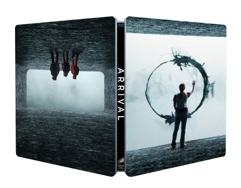 arrival steelbook amazon blu ray dvd 2020 ost villeneuve_