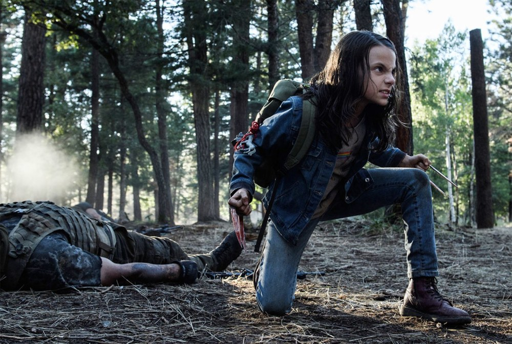 logan-film-dafne-keen arpione violence children safety