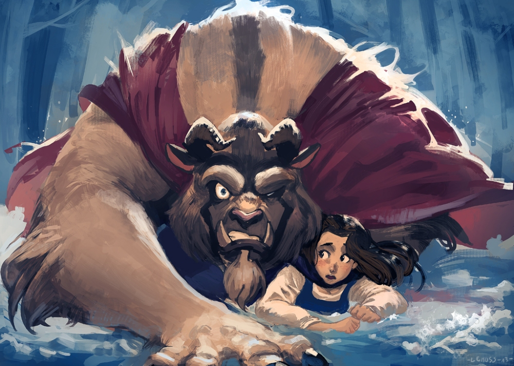 the_beauty_and_the_beast_bella bestia 2 20202 paintjob