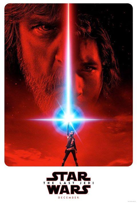 the last jedi star wars 2018 2017 official poster teaser kylo luke rey
