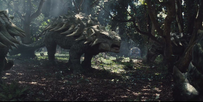 AnkylosaurusGyro jurassic world hot 2018 bayona