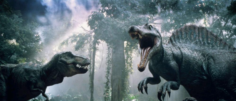 jurassic-park-iii-t-rex-vs-spinosaurus fallen kingdom