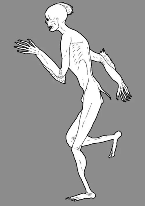 human without umano senza pelle concezioen futura