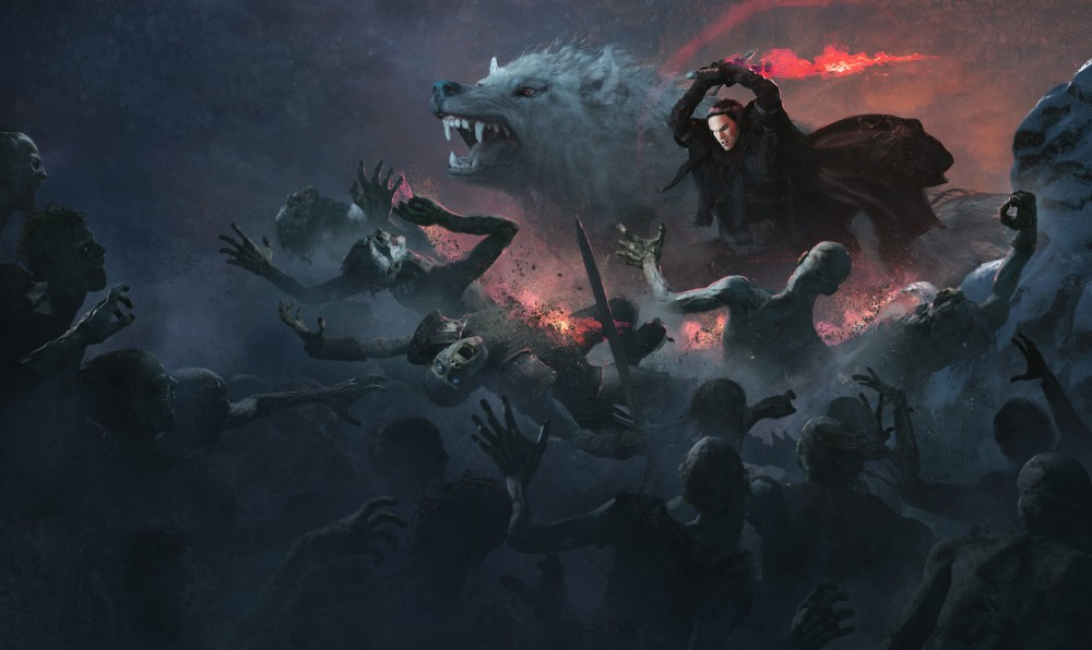 jon-snow-with-wolf-attacking-white-walkers-artwork-88