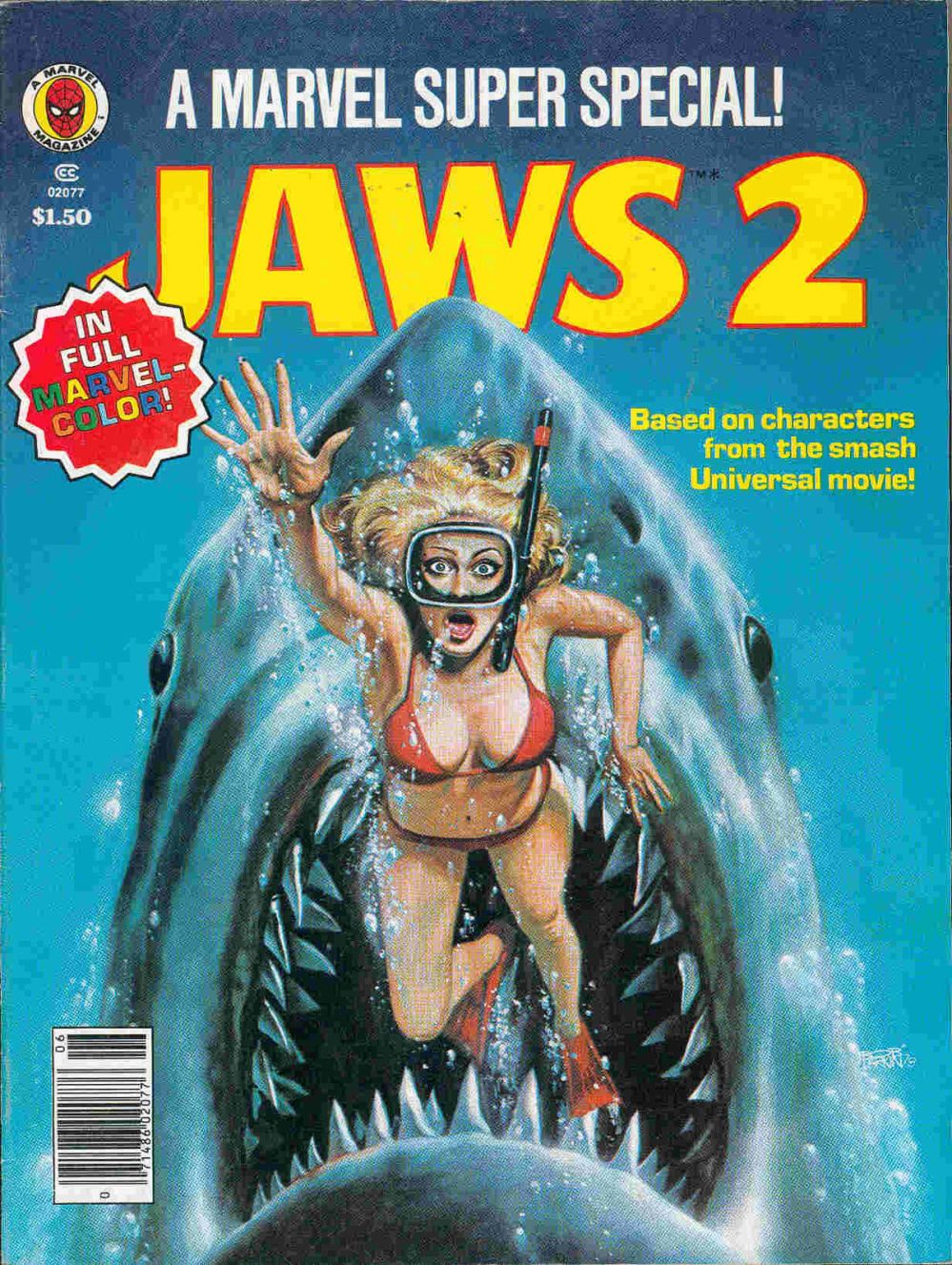 marvel jaws 2 special