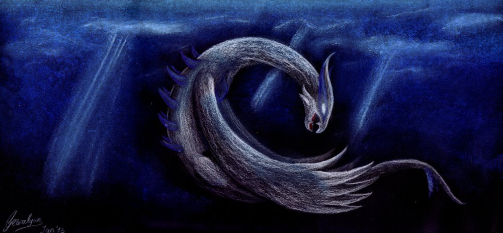 pokemon_fanart__lugia___the_king_of_deep_sea_by_gewalgon-d5q1o19