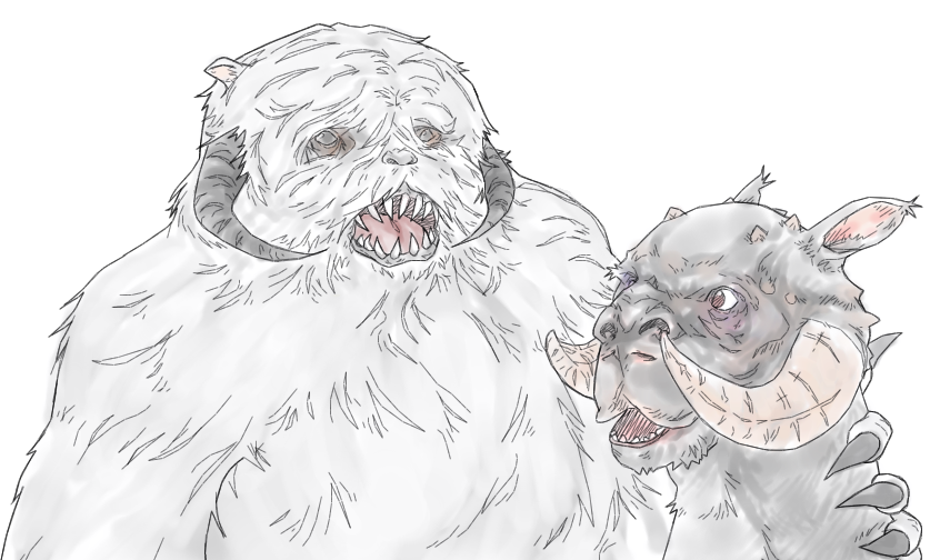 wampa_tauntaun_friends_by_b_dangerous-d70leyr